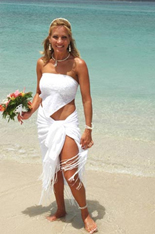 Wear a Wedding Sarong for your Beach Wedding – Buy Hawaiian ...